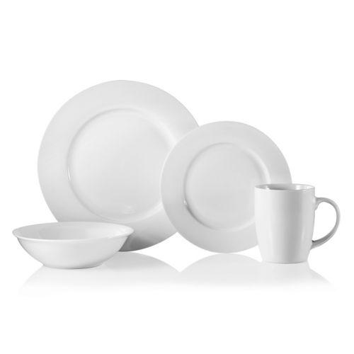 Oneida Naturally White 16-pc. Dinnerware Set