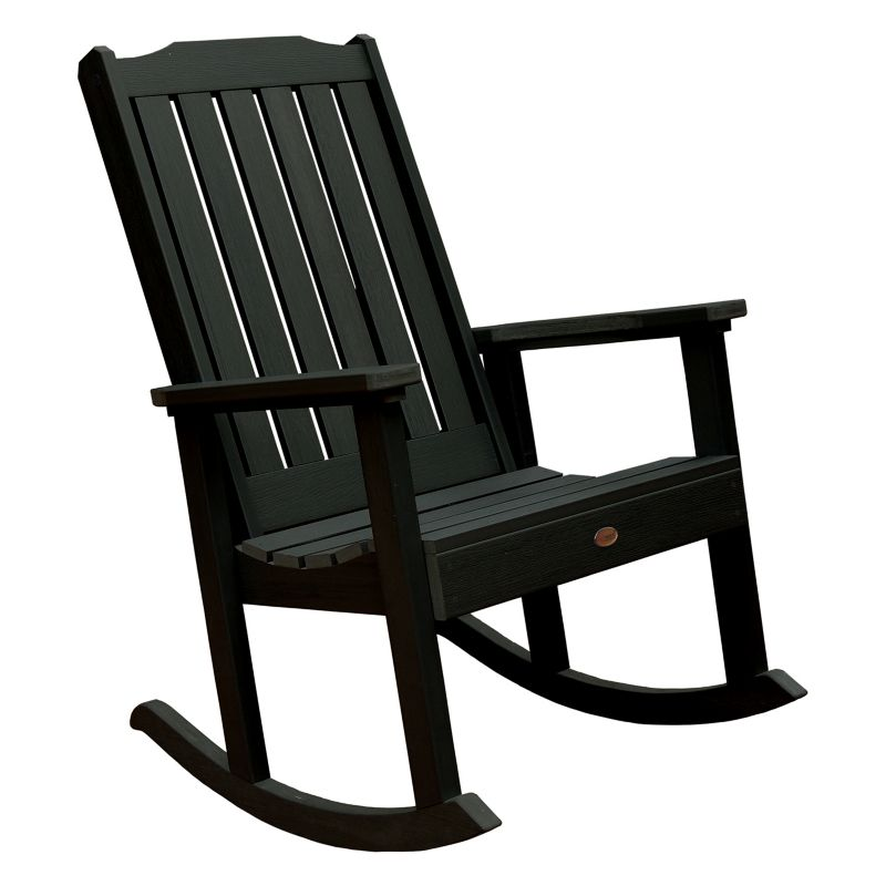 Green Outdoor Rocking Chair