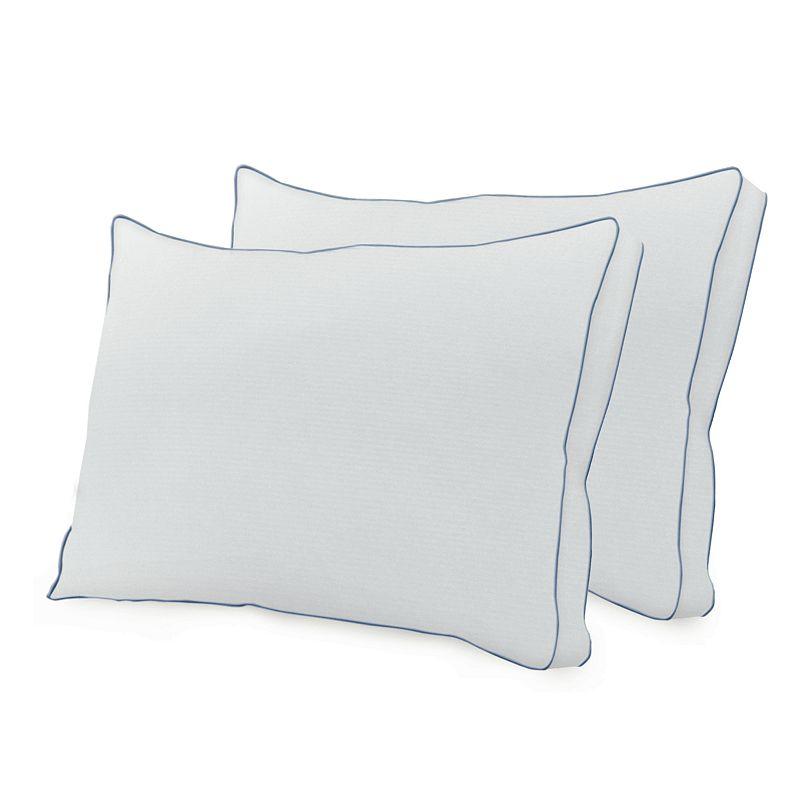 SensorPEDIC Memory Loft Deluxe Nanotex Memory Foam 2-pk. Pillows - Standard