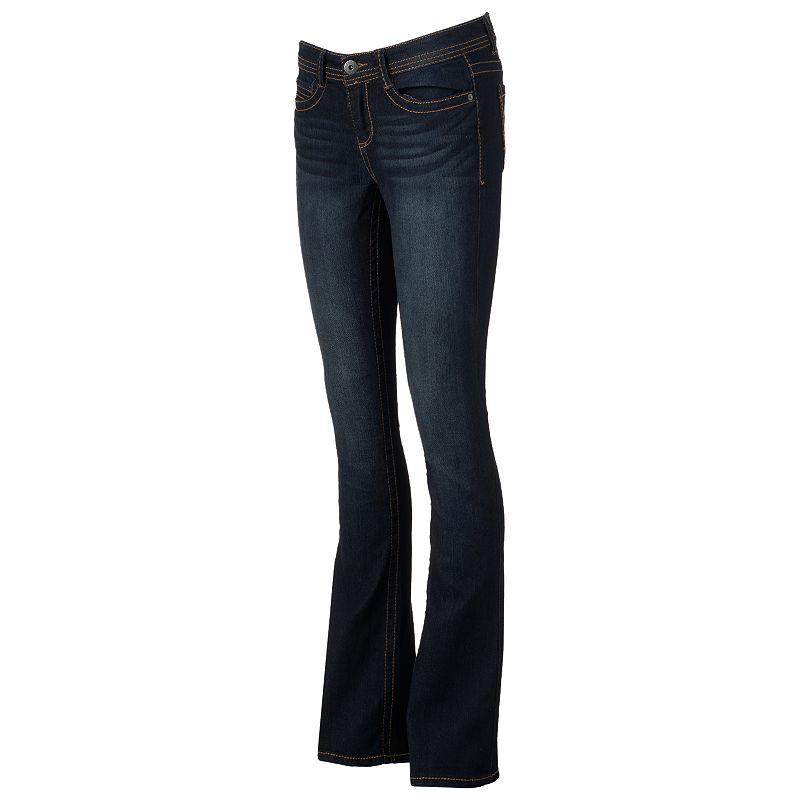 Juniors' Mudd® Skinny Bootcut Jeans