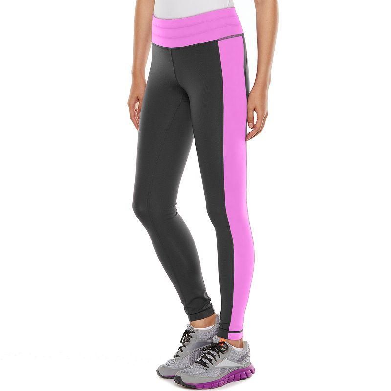 Women's Tek Gear® Shapewear Colorblock Workout Leggings