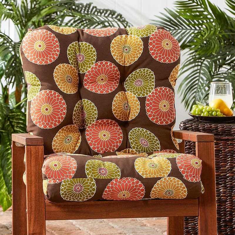 Greendale Home Fashions Seat and Back Outdoor Chair Cushion - Tall