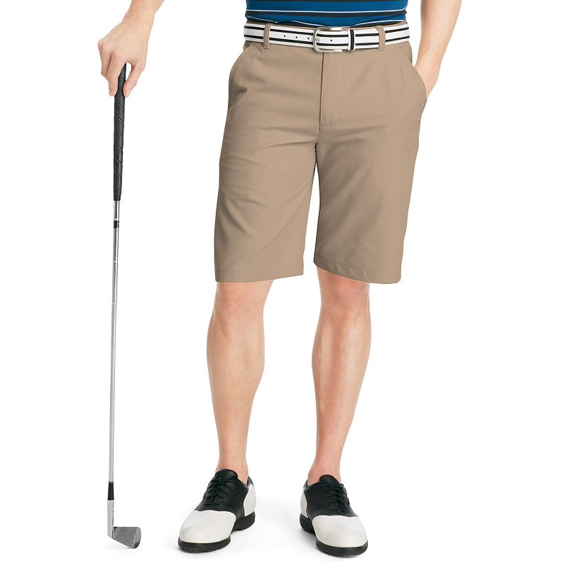 Men's IZOD Solid Microfiber Performance Golf Shorts
