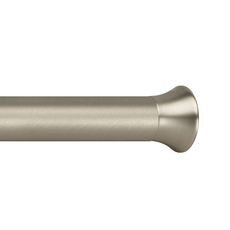 Umbra Chroma Adjustable Tension Nickel-Finish Curtain Rod - 54'' - 90''