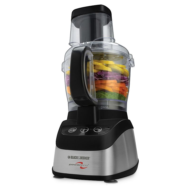 Black and Decker 2-in-1 Food Processor and Blender