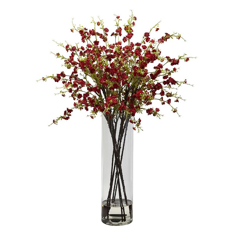 nearly natural Giant Cherry Blossoms Floral Arrangement