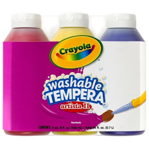 Crayola 3-ct. Artista II Primary Color Tempera Paints