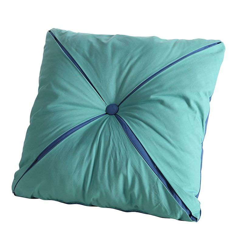 Fiesta Button Reversible Decorative Pillow