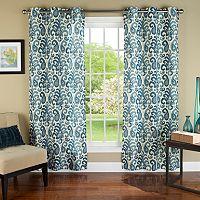 m.style Ikat Plume Window Panel Pair - 40'' x 84''