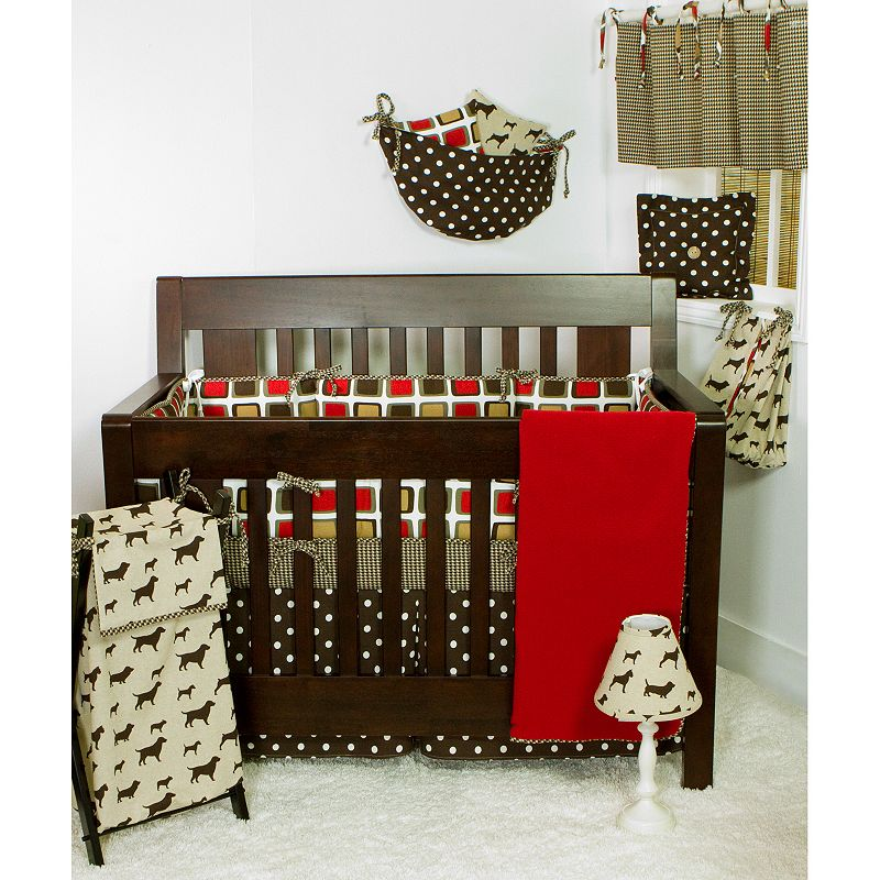 Cotton Tale Houndstooth 7-pc. Crib Set