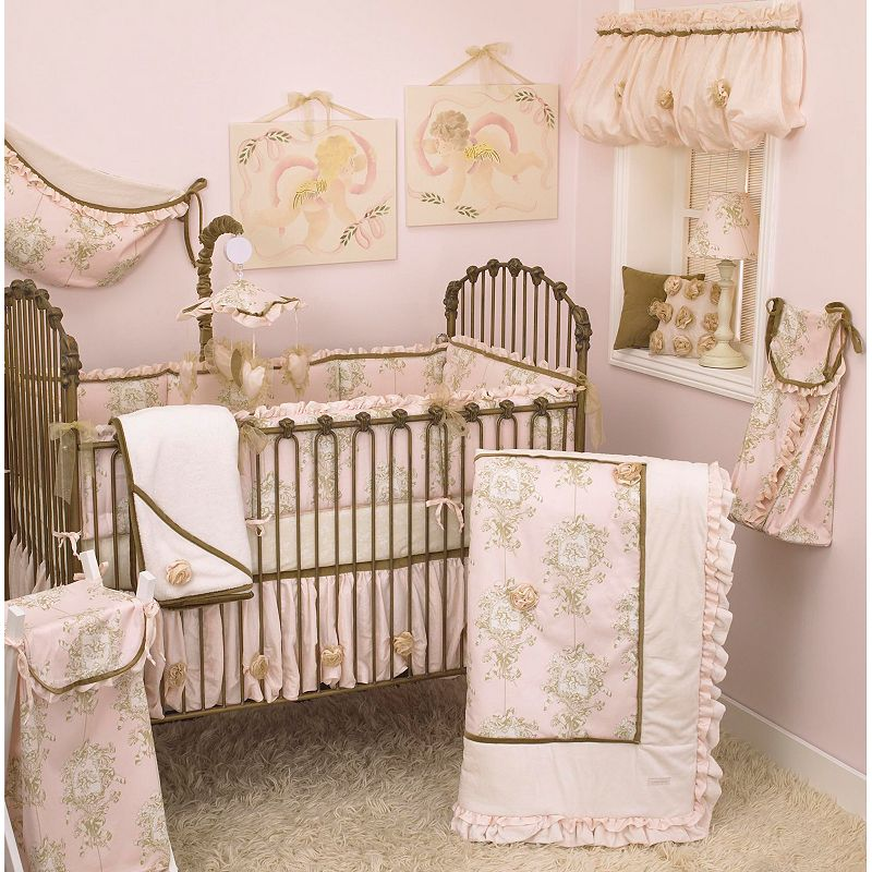 Cotton Tale Lollipops and Roses 7-pc. Crib Set