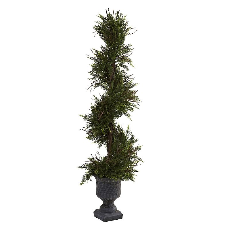 nearly natural 3 3/4-ft. Mini Spiral Pine Tree - Indoor and Outdoor