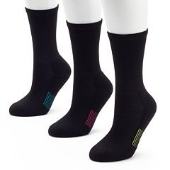 Tek Gear 3-pk. Crew Socks Women