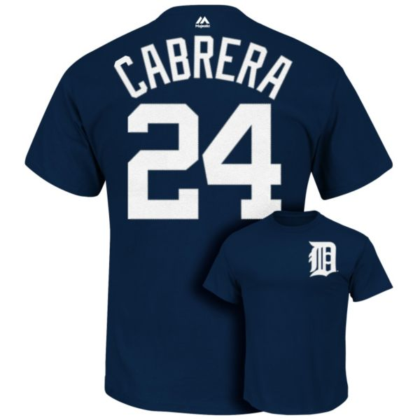 Big & Tall Majestic Detroit Tigers Miguel Cabrera Tee