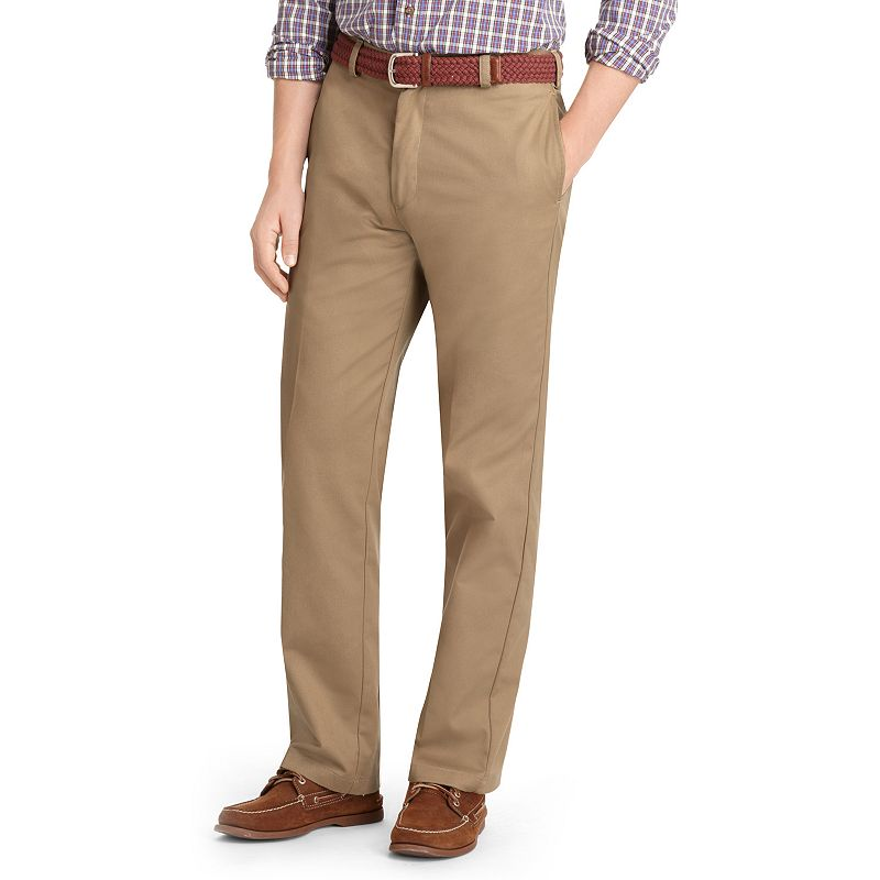 Big & Tall IZOD Twill Flat-Front Pants