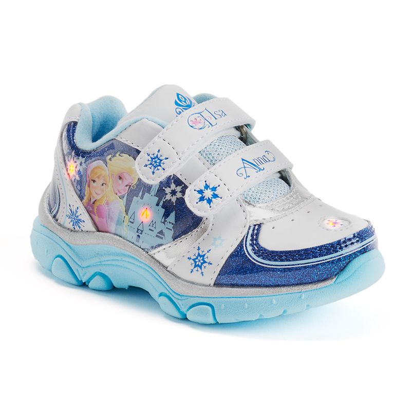 Disney Frozen Elsa & Anna Light-Up Athletic Shoes - Toddler Girls
