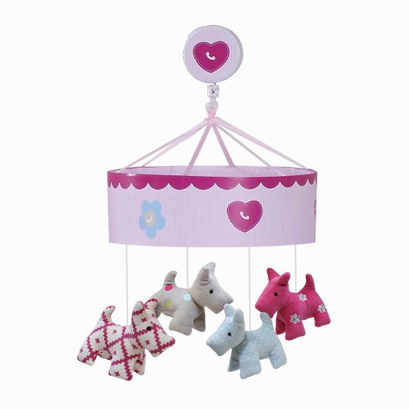 Lambs and Ivy Puppy Tales Musical Mobile