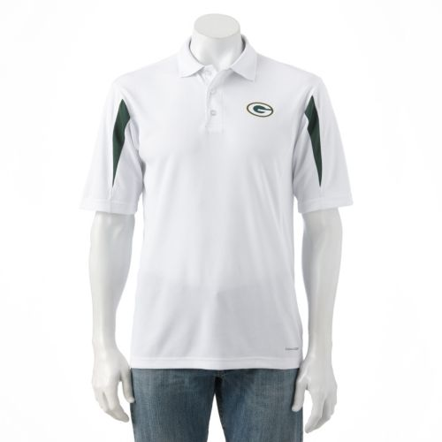 Majestic Green Bay Packers Field Classic Cool Base Polo - Men