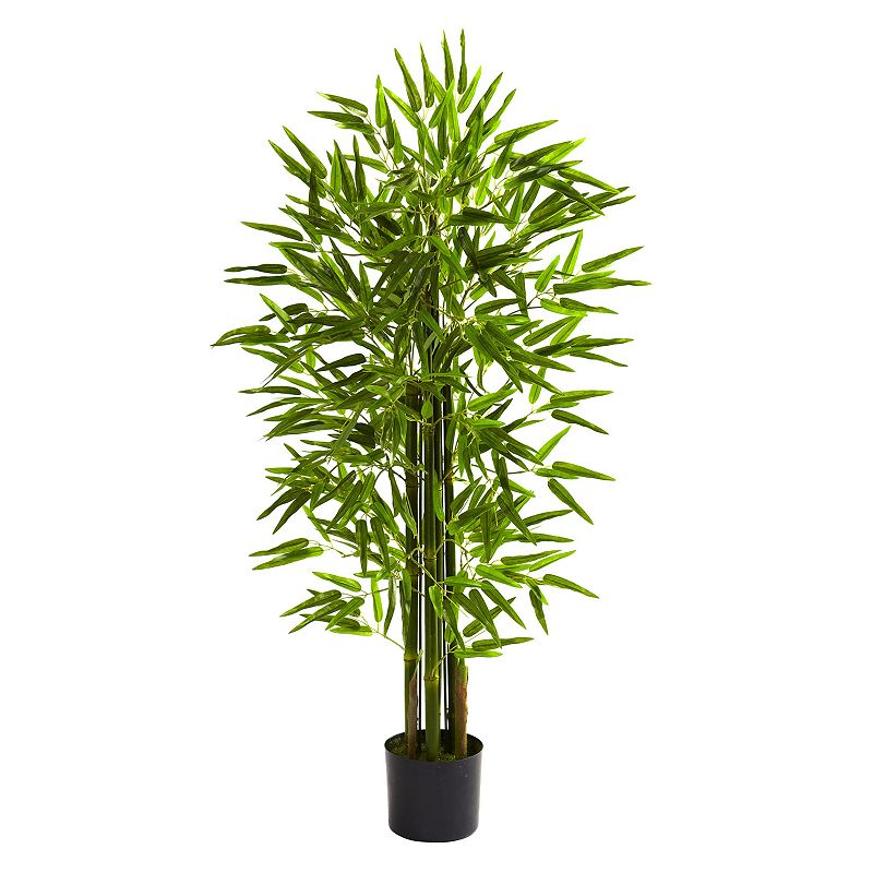 nearly natural 4-ft. Potted Bamboo Tree - Indoor and Outdoor