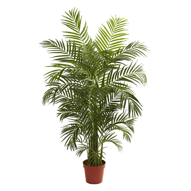 nearly natural 4 1/2-ft. Potted Areca Palm Tree - Indoor and Outdoor