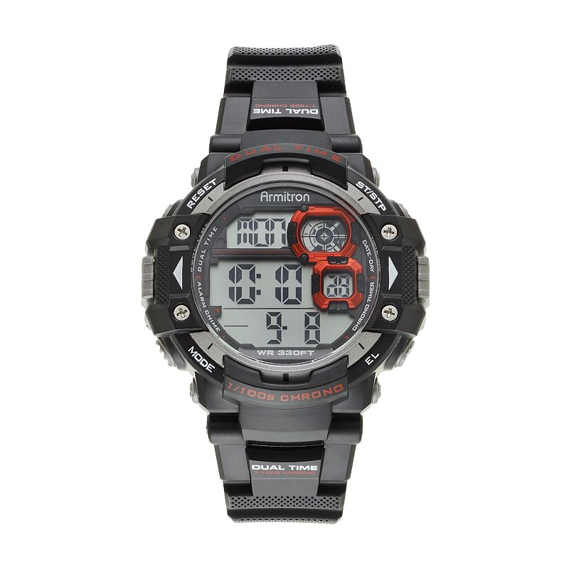 Armitron Men's Digital Chronograph Watch - 40/8309RED