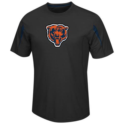 Men's Majestic Chicago Bears Fan Fare VII Cool Base Tee