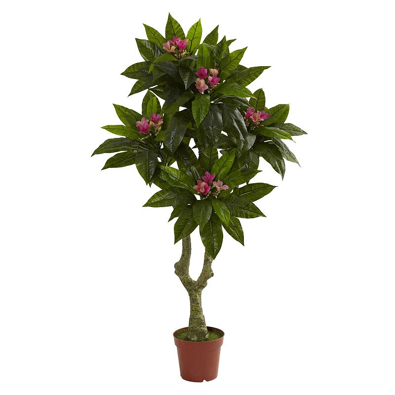 nearly natural 5-ft. Plumeria Tree - Indoor and Outdoor