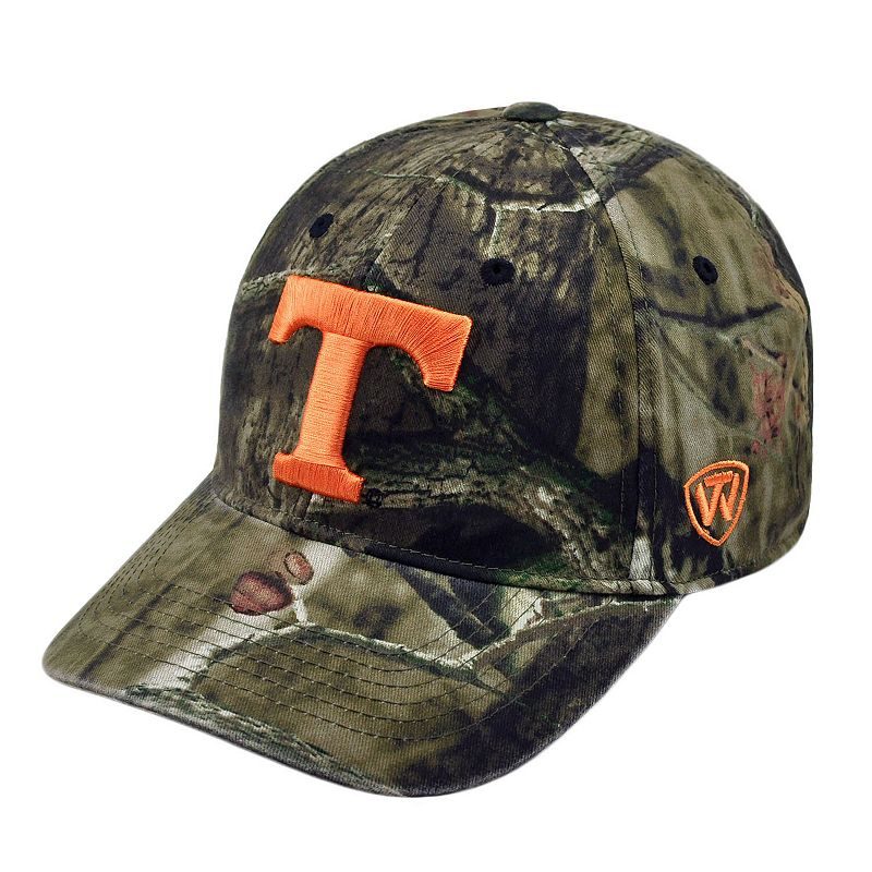 Adult Top of the World Tennessee Volunteers Resistance Mossy Oak Camouflage Adjustable Cap