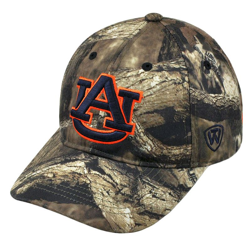 Adult Top of the World Auburn Tigers Resistance Mossy Oak Camouflage Adjustable Cap