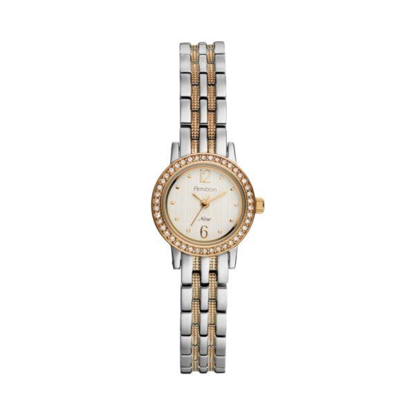 Armitron NOW Women's Two Tone Watch - 75/5221SVTT