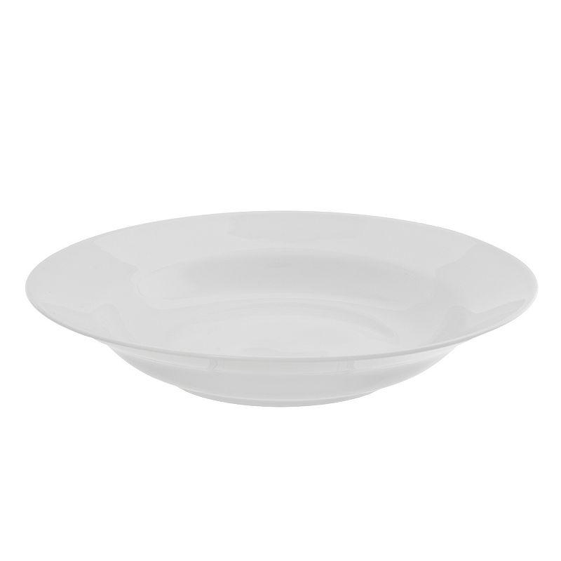 10 Strawberry Street Royal White 6-pc. Rimmed Soup Bowl Set