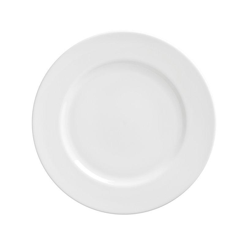 10 Strawberry Street Royal White 6-pc. Salad Plate Set