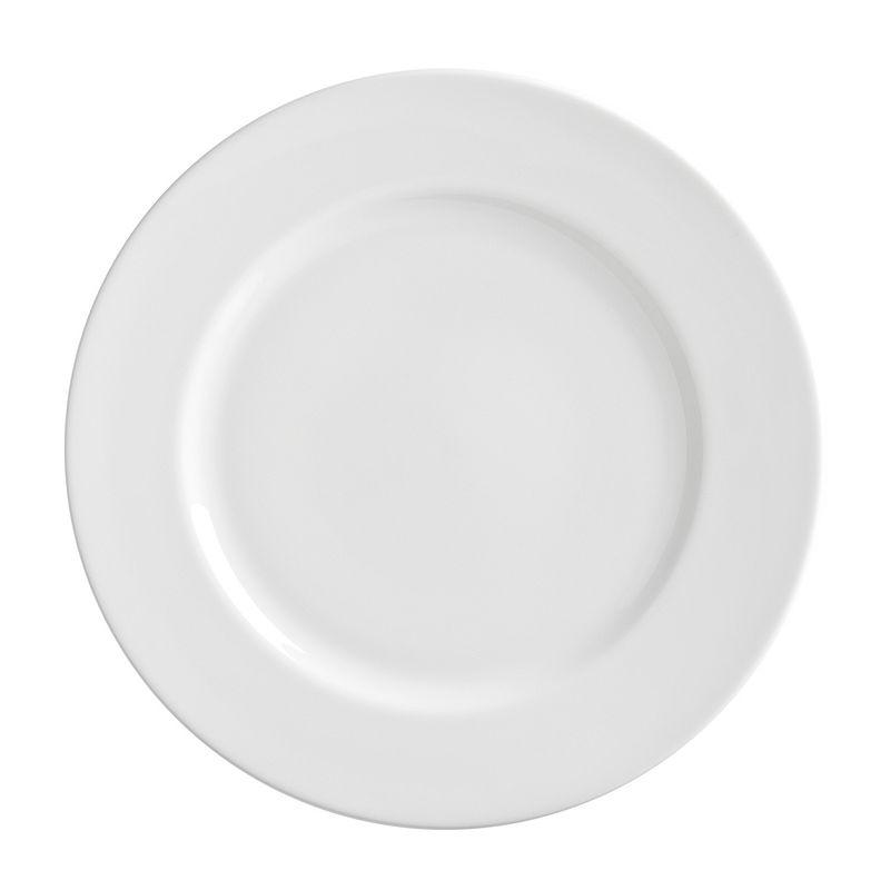 10 Strawberry Street Royal White 6-pc. Oversized Dinner Plate Set