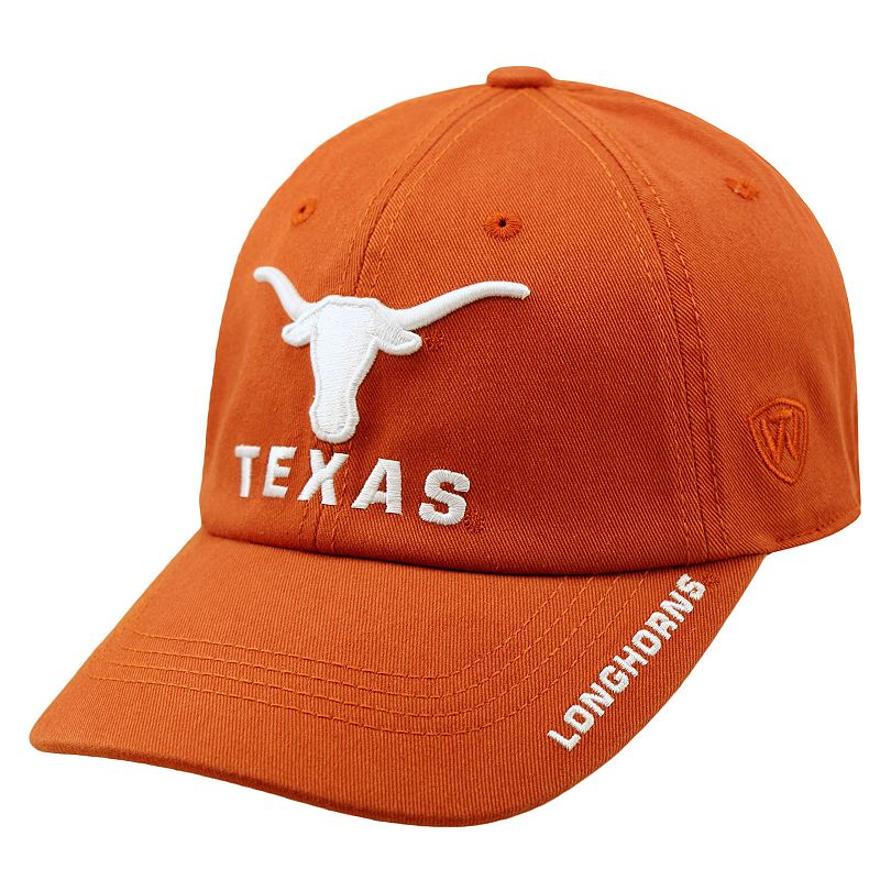 Adult Top of the World Texas Longhorns Undefeated Adjustable Cap