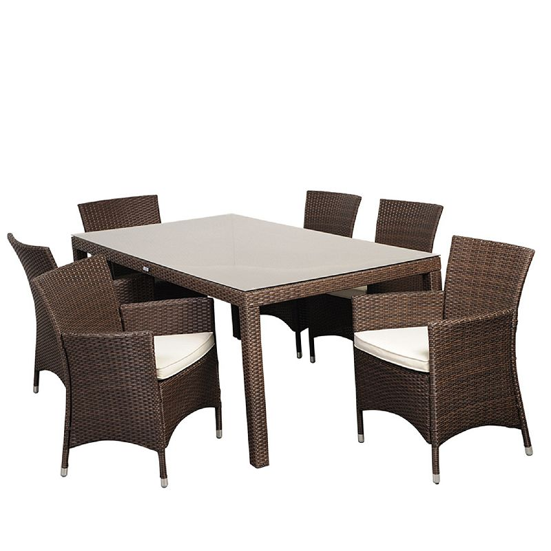 Atlantic Atlantis Grand Deluxe 7-pc. Dining Set - Outdoor
