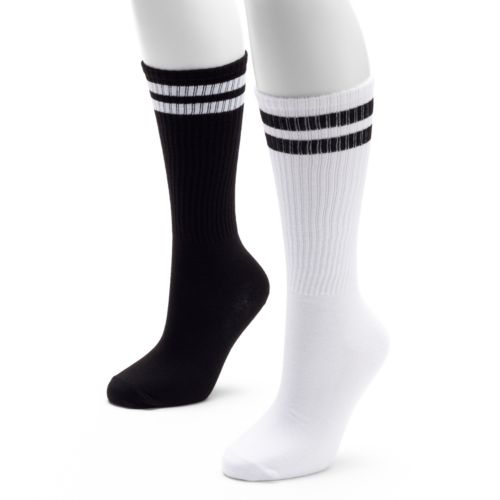 SO® 2-pk. Striped Knee-High Socks - Women