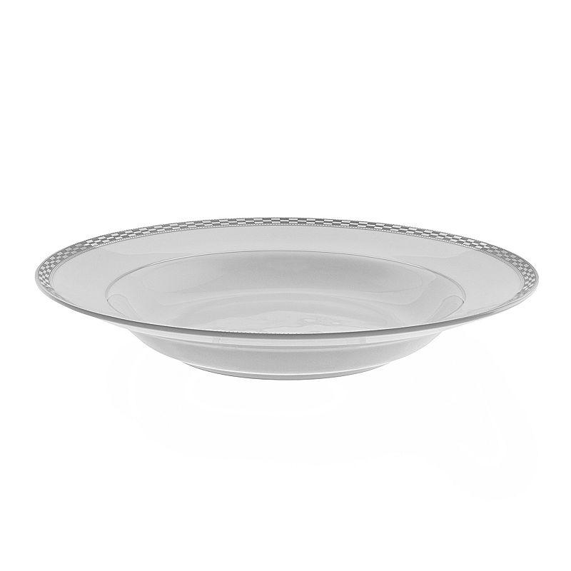 10 Strawberry Street Athens 6-pc. Rimmed Soup Bowl Set