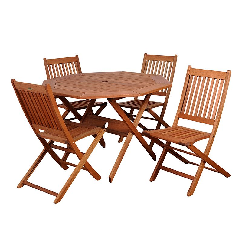 Amazonia Roma Octagon 5-pc. Dining Set - Outdoor