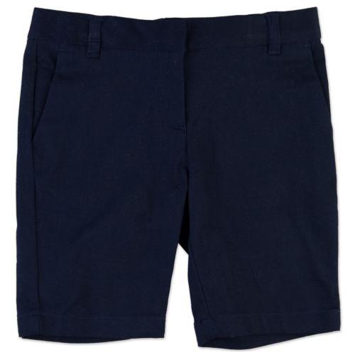 Chaps School Uniform Bermuda Shorts - Girls 4-6x