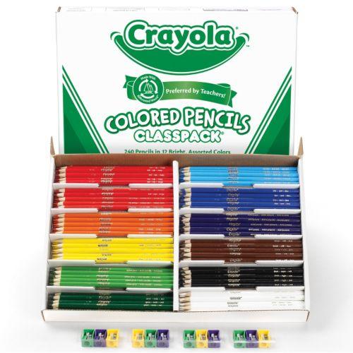 Crayola 240-ct. Colored Pencils Classpack
