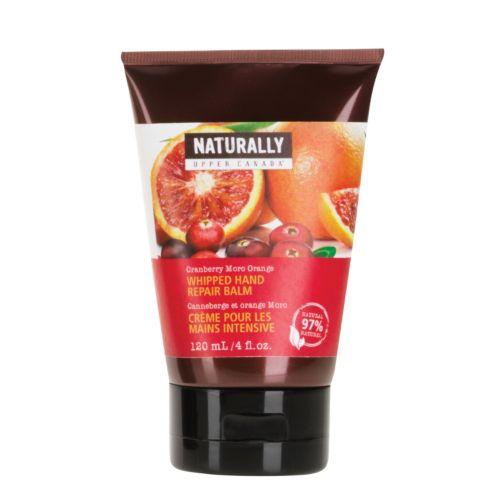Naturally Cranberry Moro Orange Whipped Hand Repair Balm
