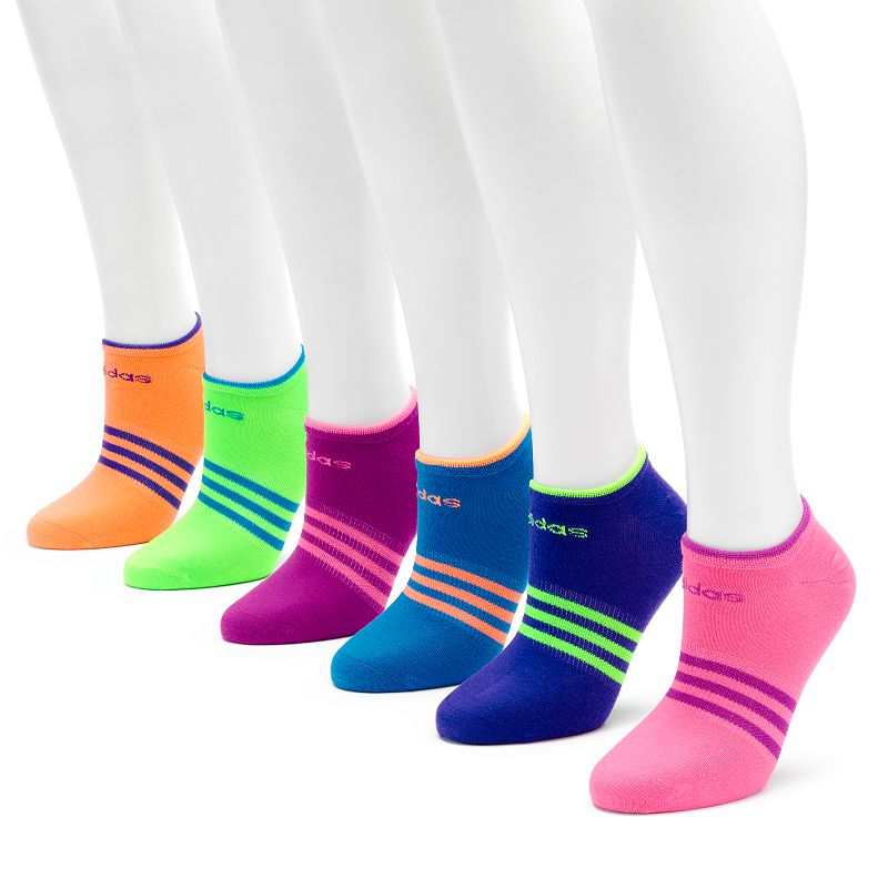 adidas Climalite SuperLite 6-pk. No-Show Socks - Women
