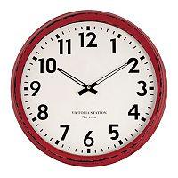 Distressed Circle 16-in. Wall Clock