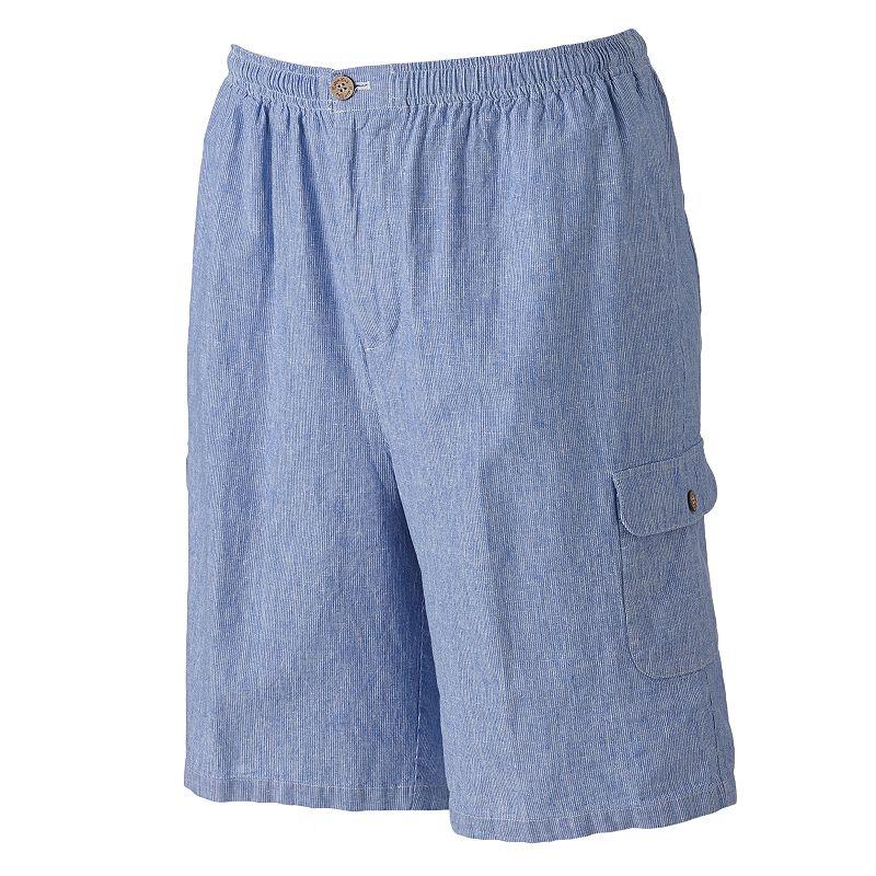 Men's Batik Bay Seersucker Cargo Shorts