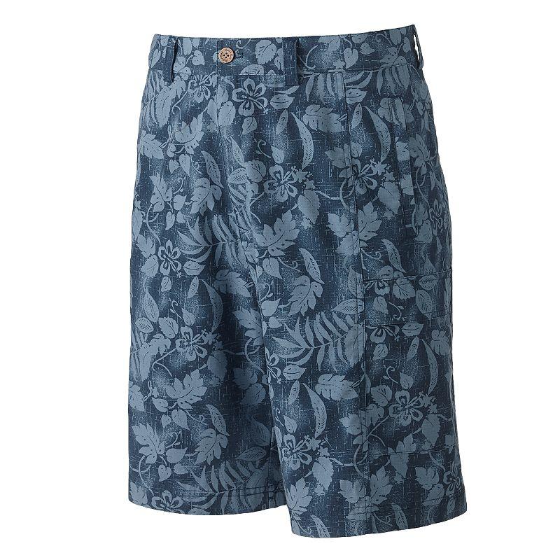 Men's Batik Bay Tropical Ripstop Cargo Shorts