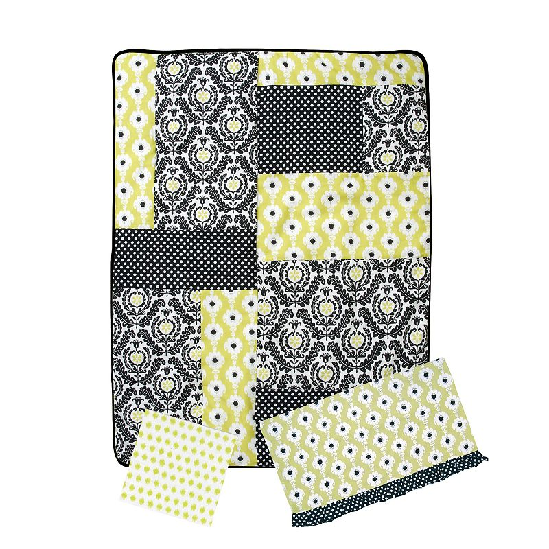 Trend Lab 3-pc. Waverly Rise and Shine Crib Bedding Set