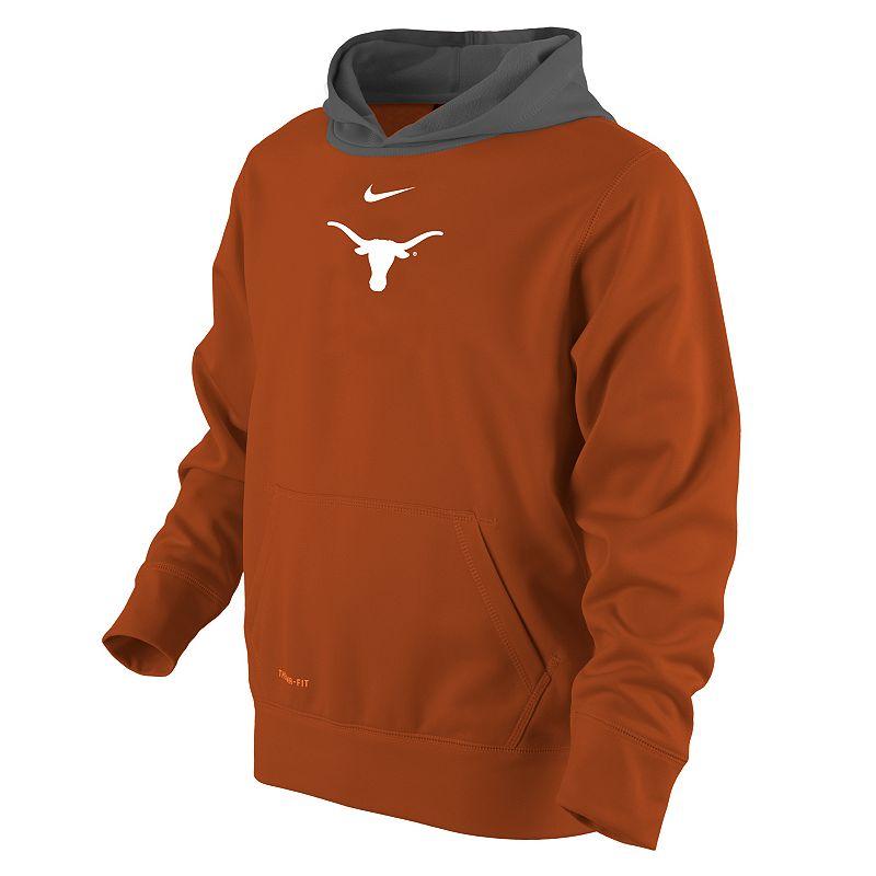 Boys 4-7 Nike Texas Longhorns Therma-FIT Hoodie