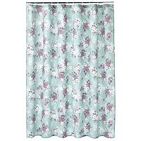LC Lauren Conrad Floral Fabric Shower Curtain