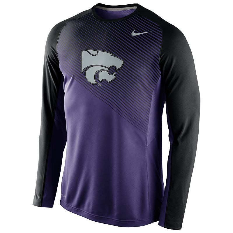 Men's Nike Kansas State Wildcats Fearless Shootaroud Performance Tee