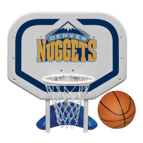 Poolmaster Denver Nuggets NBA Pro Rebounder Poolside Basketball Game